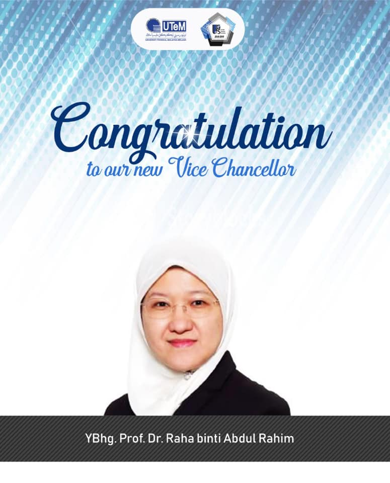 Welcoming the New Vice Chancellor of UTeM