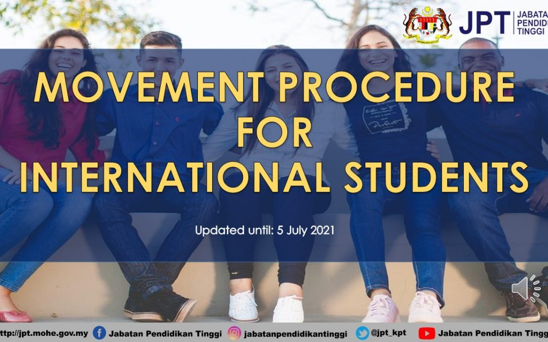 MOVEMENT PROCEDURE FOR INTERNATIONAL STUDENTS