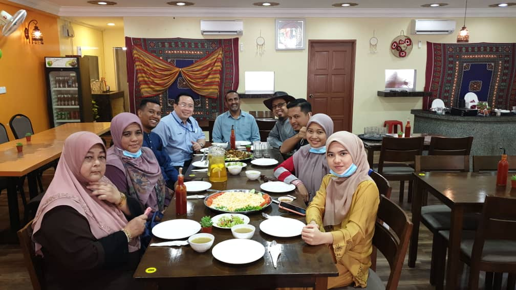 Farewell Party for UIC Intern Student – Ily Hafizah