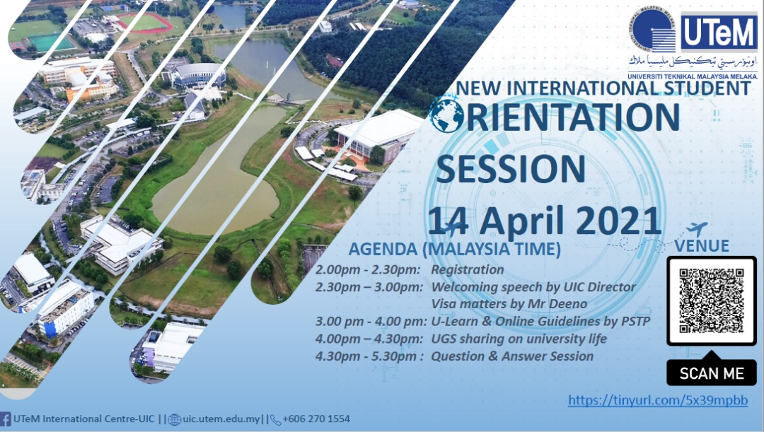 Orientation Session for New International Students